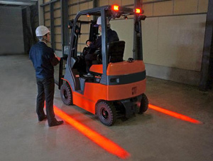 Forklift Zone Lamps