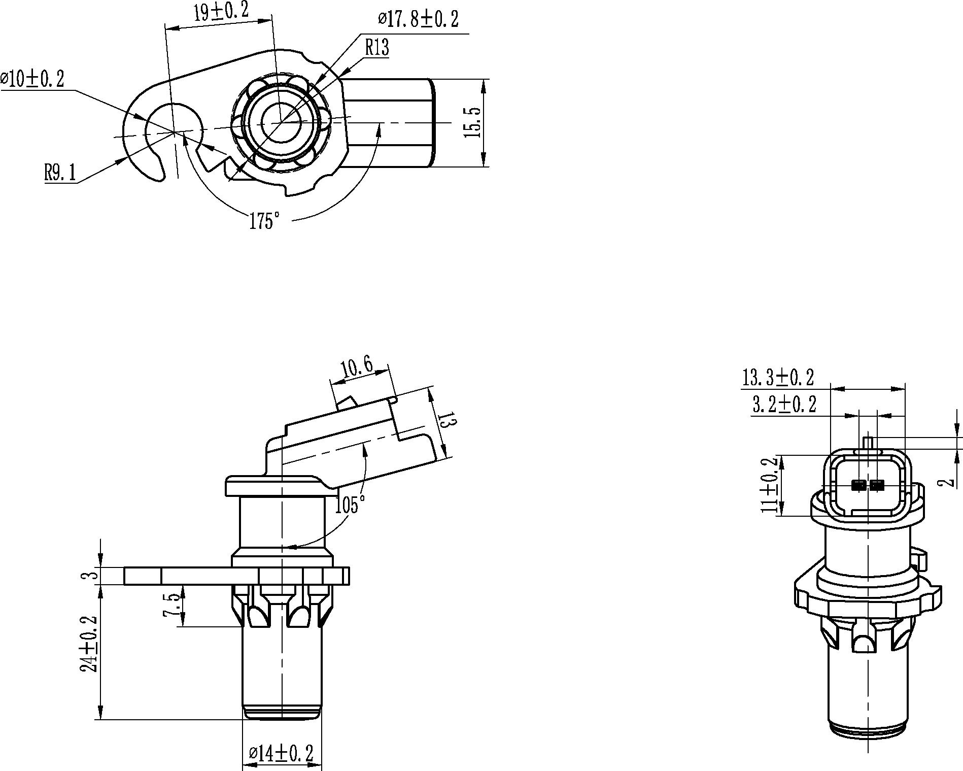 150685 Crankshaft Position Sensor 2 4 Twin Cam Engine Diagram New Hc Cargo