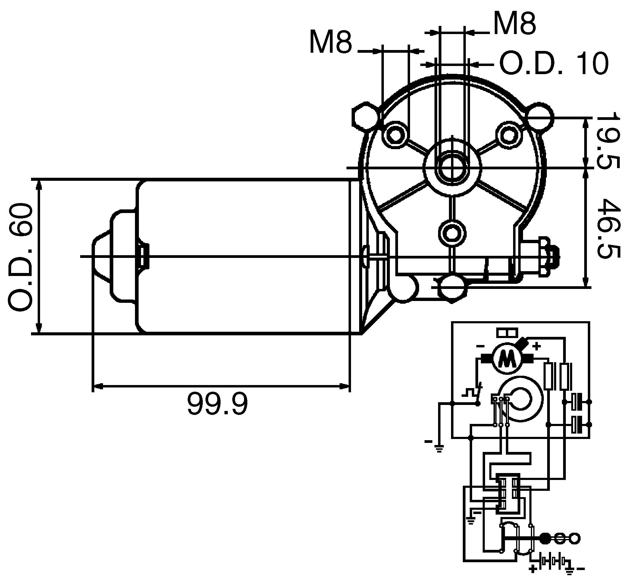 New HC CARGO Wiper Motor-160503
