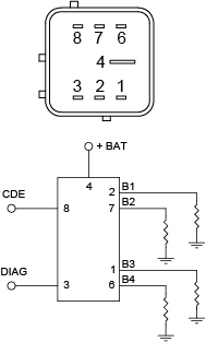 161120 Glow Plug Relay on