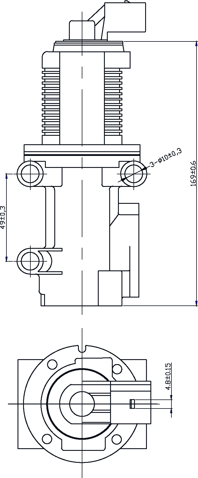 182000 Egr Valve John Deere Alternator Wiring Diagram 15 Mini Exc New